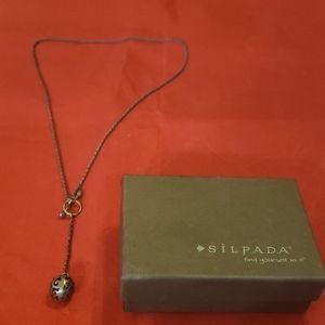 Silpada sterling silver drop necklace